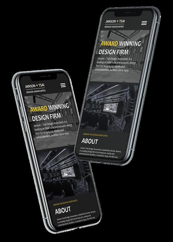 janson tsai website design, web design, high-end website design, professional web design agency, wix website design, mobile web design,wix expert designers