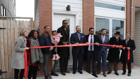 Officials celebrate success of workforce housing development