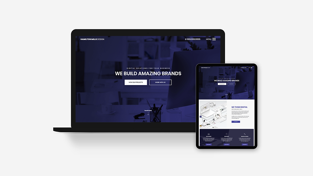 Creative Agency Website Template, Freelancer Website Template