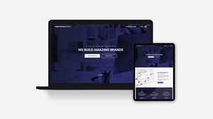Creative Agency Website Template, Freelancer Website Template
