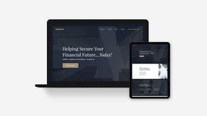 Financial Advisor Website Template