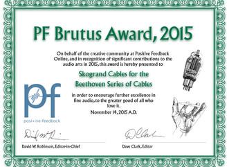 PF Brutus Award, 2015