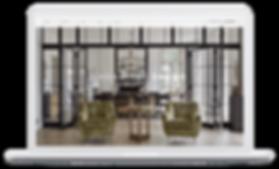 nannette brown, interior designer website design