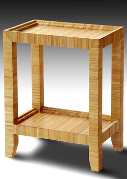 GR - Straw Marquetry Telephone Table 2.j