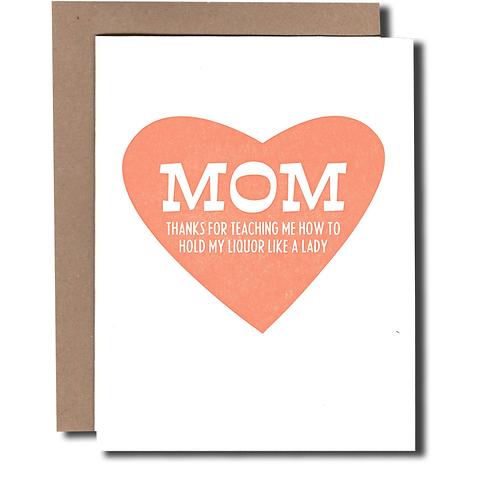 Mom Liquor Card