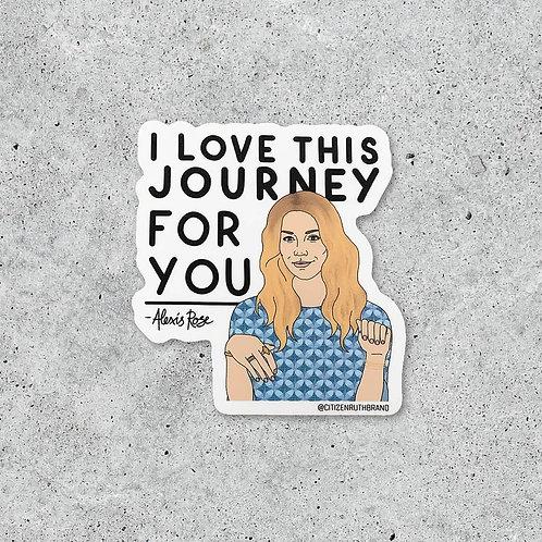 Alexis Rose Sticker