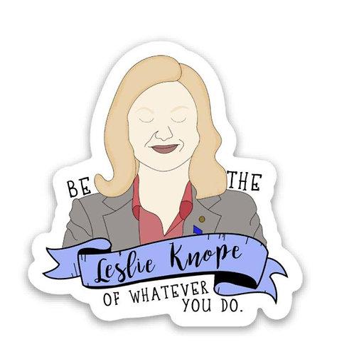 Leslie Knope Sticker - Parks & Rec