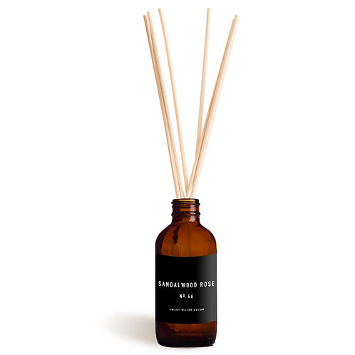 Sandalwood and Rose Reed Diffuser