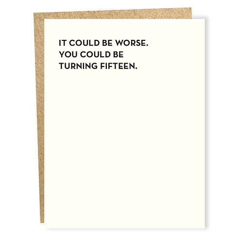 Fifteen Card