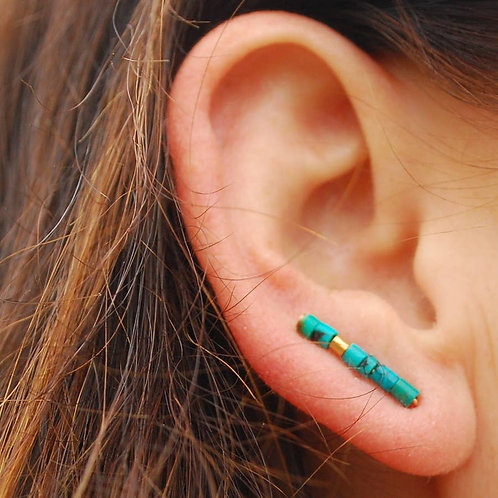 Beaded Ear Crawlers