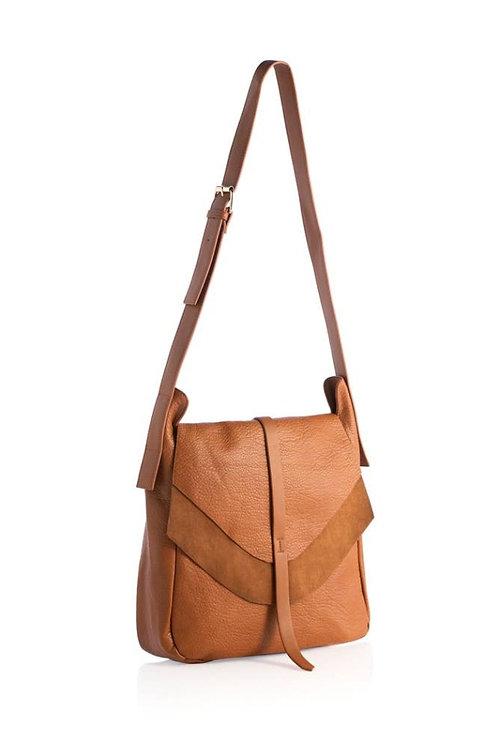 Arden Messenger Bag Saddle Brown