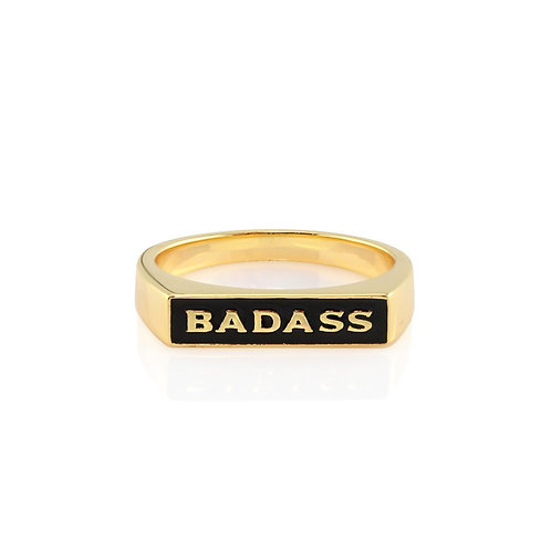 Bad Ass Signet Ring