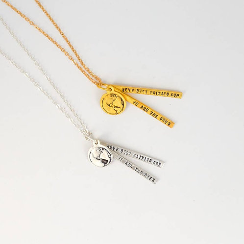 Barack Obama Quote Necklace