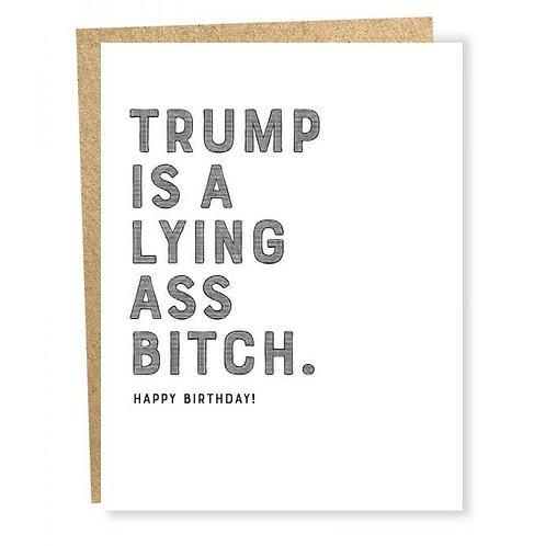Trump Birthday Card