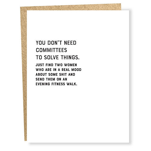 Committee Card