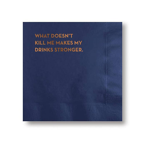 What Doesn't Kill You Cocktail Napkins