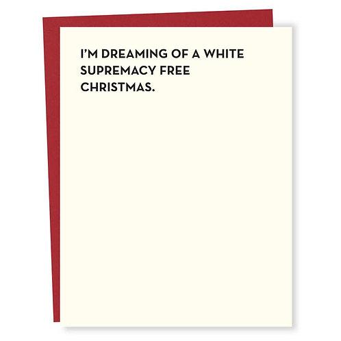 White Supremacy Free Christmas