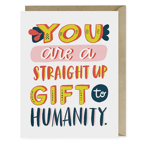 Gift to Humanity Card