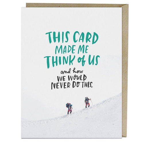 Think of Us Card