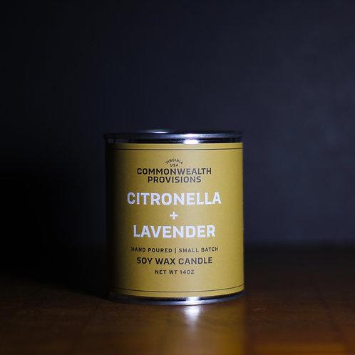 Citronella and Lavender Candle
