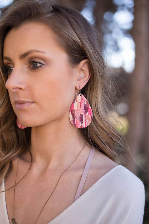 Featherweight Leather Earrings