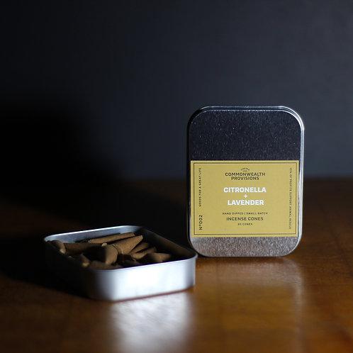 Citronella and Lavender Incense
