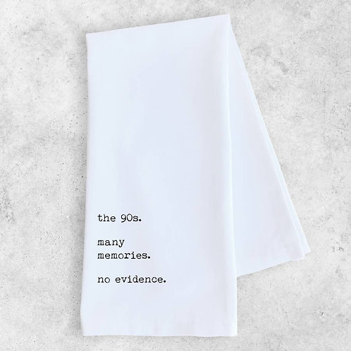 The 90's Tea Towel