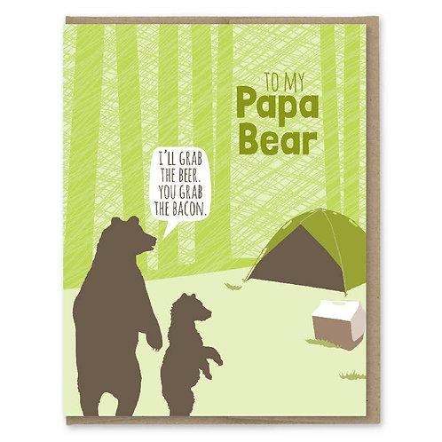 Papa Bear Card