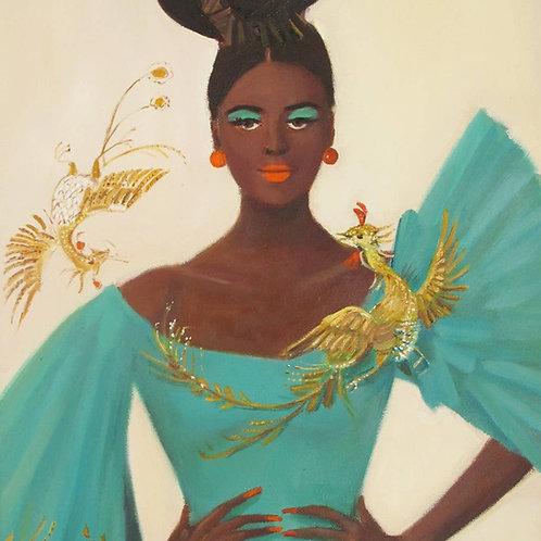 Phoenix by Janet Hill Print