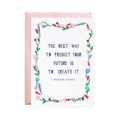 Predict the Future Card