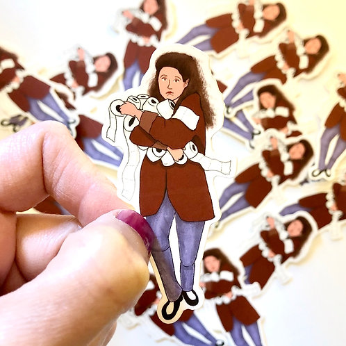 Elaine Sticker