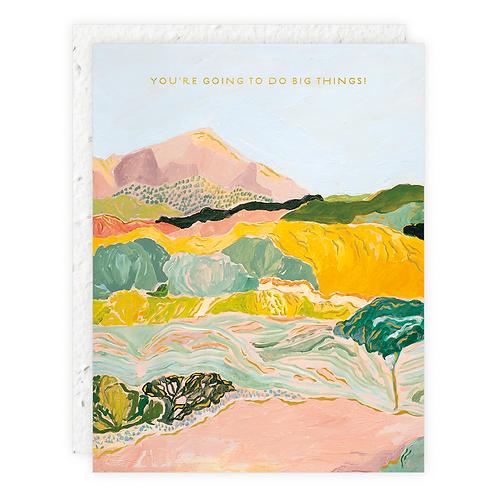 Big Things Card