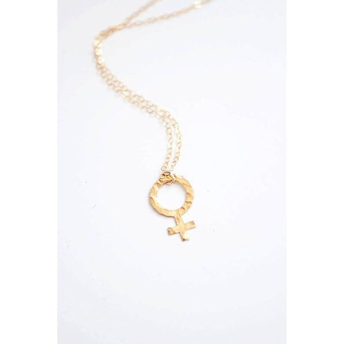 Female Sign Necklace