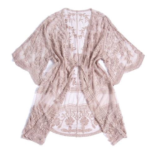 Blush Lacey Kimono