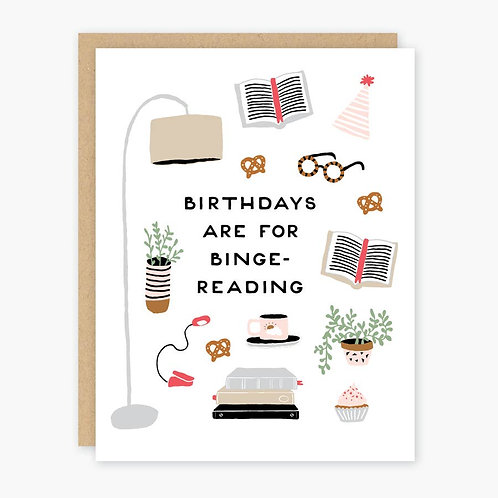 Binge Birthday Card