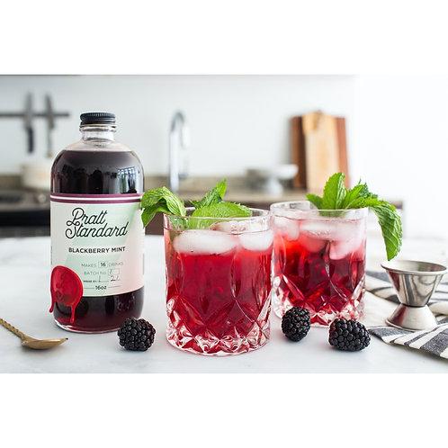 Blackberry Mint Syrup