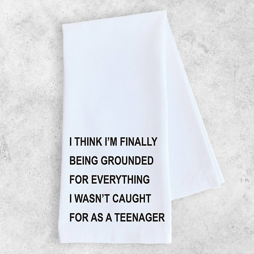 Grounded Kitchen Towel