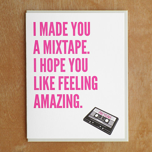 Mix Tape Card