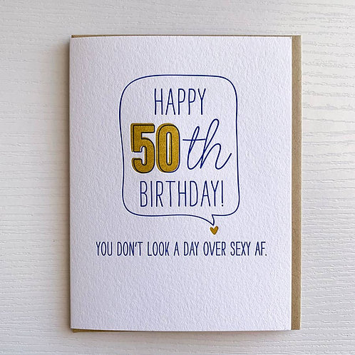 50th Sexy AF