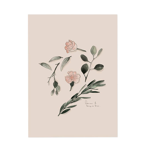 Vegetal Art Print
