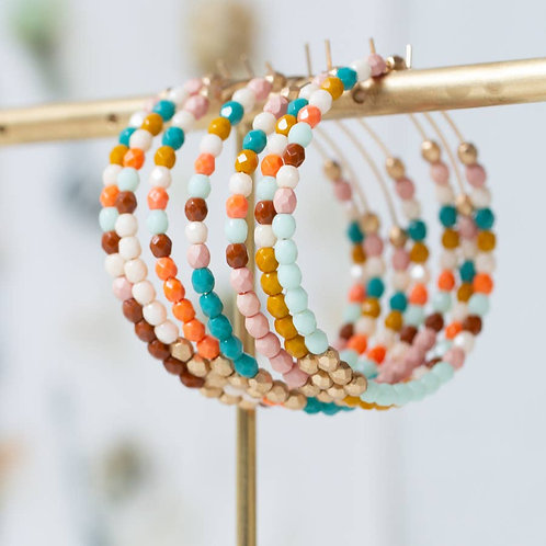 Extra Large Colorful Hoops