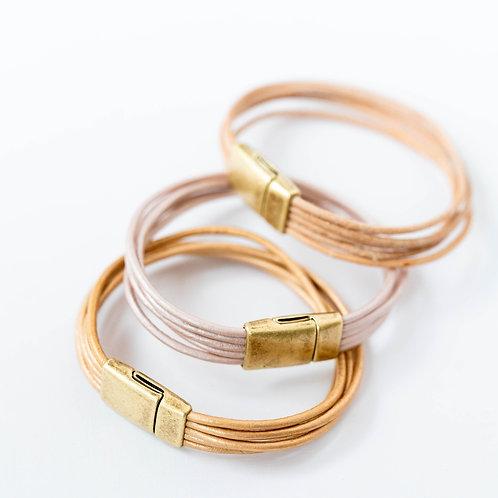 Minimalist Leather Bracelet