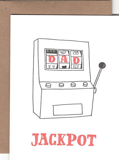 Dad Jackpot Card