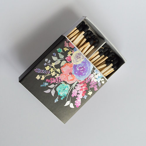 Floral Safety Matches