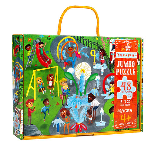 Little Likes Kids Jumbo Splash Park Puzzle 48 pieces