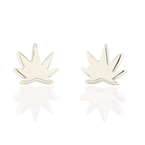 Cannabis Stud Earrings
