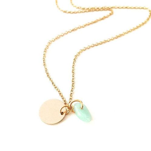Karma Crystal Necklace Opal