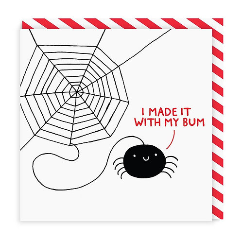 Proud Spider Card
