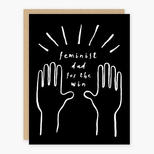 Feminist Dad Card