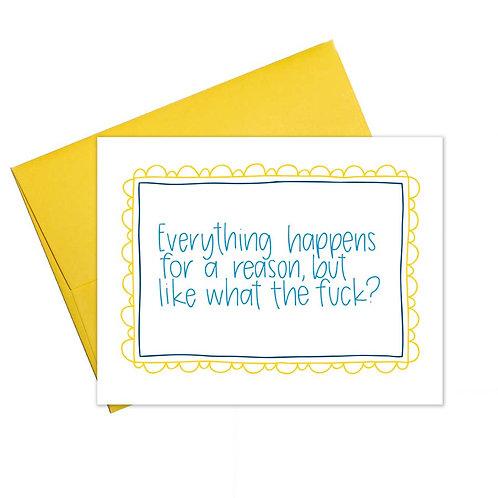 Like WTF? card